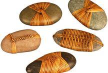 Contemporary fiber stone