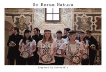 DE RERUM NATURA. / Shooting della mia prima collezione di t.shirt dipinte a mano.  Foto a cura di Valeria Pierini. Stylist Elisabetta Antonelli - attebasile-