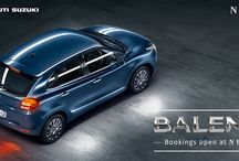 All New Baleno / Power stance, iconic body, and innovative features. The all new Baleno is ready to thrill your senses
