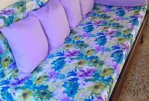 Sofa de cama antiga