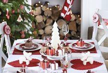 decorare tavolo natale