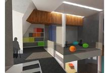 Children center interior design