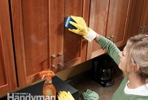 cleaning tips / by Dena Tanner