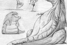 Drawing refs - Cartoon
