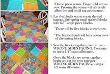 RAGGEdY QUiltS / by Dana F