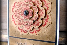 Stampin up: Daydream Medallions & Floral Frames framelits / by Cathy Abbey
