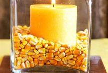Corn decorations / by Tammy Jones