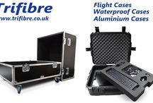 Trifibre / Trifibre are Manufacturers of Flight Cases, Plastic Cases, Aluminium Cases, Waterproof Cases, Padded Bags, Road Trunks, Rack Cases etc..