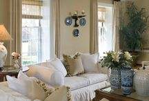 Home - White Home / Decorating with white, natural elements and lots of wood.  Neutral decorating. / by Gloria McMahon