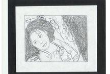 Mis Dibujos y Pinturas / Dibujos realizados a lápiz y carboncillo Pinturas realizadas con pinturas acrilicas y oleo