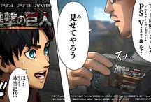 ゲーム 進撃の巨人 Game Attack on titan