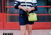 Wear Now & Wear Later / Fashion Blogger Elly Brown of Uptown With Elly Brown shows us how to wear her favorite styles now and into the cooler days ahead!