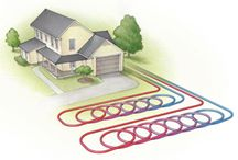 Geothermal Heat / Geothermal Heating Solutions.  More and more customers are looking for alternative ways to heat their homes.  Why not use what you already have?