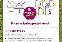 Pinterest Contest / by Threads Magazine