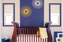 Navy & Yellow Boy's Nursery by Little Crown Interiors / A fresh and modern nursery in navy, gray and yellow, designed by Little Crown Interiors in Orange County, CA.