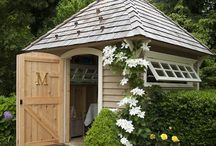 Garden Shed Inspiration / Unique Garden Sheds, full of whimsy and delight, some of them are cute, and others are really awesome