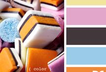 Colour / Colours - pastels, brights, clashing - all gorgeous.