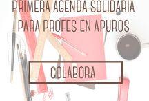 Agenda solidaria para profes en apuros / ¿Eres un profe solidari@? ¿Quieres estar el curso que viene algo menos apurad@? Aquí te contamos cómo conseguirlo :) http://vkm.is/profesenapuros