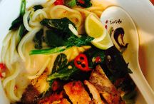 Aziatisch eten / Diverse restaurants met alleen Aziatische gerechten.