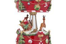 Santa Musical Snow Globes / by BestPysanky Inc