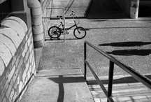 bicycle b&w