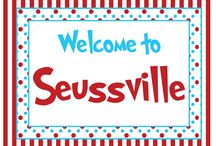 Dr Suess Theme / Dr Seuss  / by Kerstin Stevens