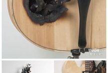 guitare papillon