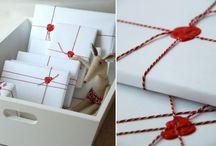 Gift Wrapping / Inspiratie en tips voor mooi verpakte cadeaus.