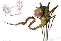Concept Design - Creatures