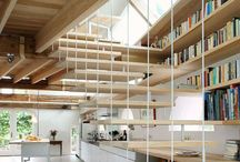 Inspiring library / Inspiration for decoration, furniture, and atmosphere at library