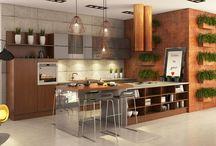 Salon z aneksem kuchennym / Nie wiesz jak urządzić salon z aneksem kuchennym? Sprawdź nasze porady! http://bit.ly/2cU3jYl  → www.bogaccy.pl