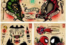 Tetovanie Flash