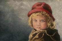 Children in art / by Pollyanna.is Webstore