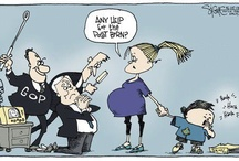 Goofy Old Pinheads - Attack of the Republitards / AKA - The I hate blacks, women, jews, hispanics, arabs, asians, gays and lesbians - but I love Jesus Club! / by Richard Smith