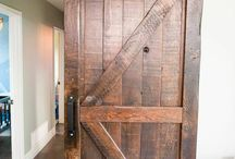 barn doors in the house