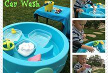 Children's - water table activities