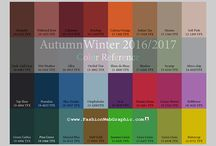 winter 2015/2016 / fashion colours and fashion trends