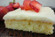 6 Dessert - Cakes / by Cassandra Ann