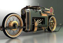 Motos y autos / by Yarum B