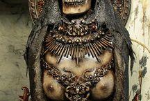 Death Goth Skulls