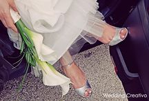 Winter White Wedding / an elegant modern winter white wedding inspiration board