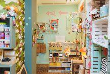 Tienda Babillage Verdi / Tienda de moda e interiorismo infantil en el barrio de Gracia, Barcelona. #Interior #Store #Tienda #Kids #Babies