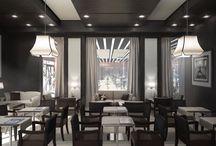 Projekt WORLD-CLASS MONACO Sportbar-/Restaurant / Bar-/Restaurant: Idee, Konzept, 3D Gestaltung und Rendering, Komplett-Einrichtung