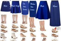 shoes - skirt length