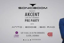 Pre-party on 09th August 2014 @ Elixir Bar by Anto / Eddie/ Sid Rao