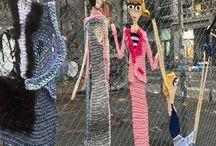 strikking barn/kunst
