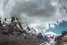Spots in den Alpen