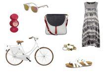 Rowerowe stylizacje / Modnie na rower!