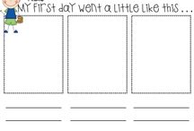 First Week Of School / by Ashley Minton
