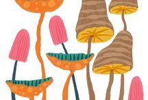 100 Mushrooms